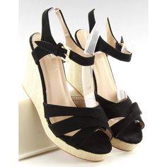 Sandały #Damskie #ObuwieDamskie #Czarne #Sandałki #Na