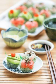 Matcha Temarizushi - Green Tea Sushi Balls | Thirsty for Tea