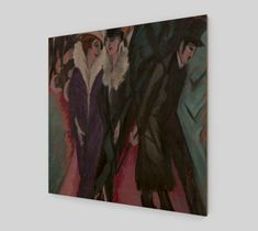 Fine Art Prints On Canvas [Museum Quality Art Reproductions] – ATX Fine Arts Stretched Canvas Prints, Canvas Art Prints, Canvas Wall Art, Fine Art Prints, Expressionist Artists, Abstract Expressionism Art, Wall Art For Sale, Art Prints For Sale, Ernst Ludwig Kirchner