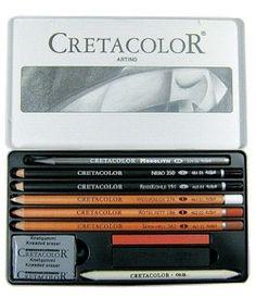 Cretacolor Artino tegnesæt - Tegnesæt - Tegneartikler - Tegne