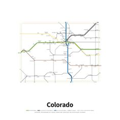 highways of the usa colorado highways of the usa colorado more information more information us interstate highway system as a subway map