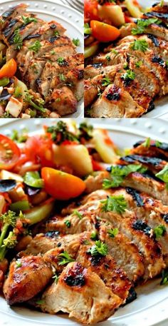 Yummy Chicken Recipes, Meat Recipes, Dinner Recipes, Cooking Recipes, Healthy Recipes, Chicken Meals, Kitchen Recipes, Yummy Food, Mustard Marinade For Chicken