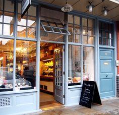 {   Androuet es una tienda de quesos preciosas que está en Old Spitafield Market, en la City de Londres   }   #queso #androuet #londres #spitafieldmarket