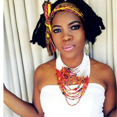 Traditional necklace, ndebele necklace, multistrand necklace. Shop at www.zulubeads.etsy.com or instagram @ada_nkirene