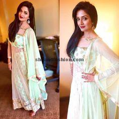 Vimala Raman in Anarkali dress
