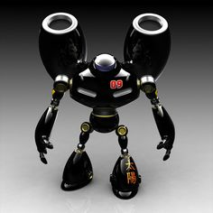 animation robots in 3d | ... Graphics: 50 + stunning creations of 3d robots | designrfix.com Smart Robot, I Robot, Cool Robots, Cool Toys, Sculpture Metal, Toy R, Vinyl Toys, Designer Toys, Robots Characters