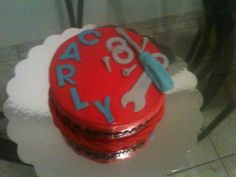 Mechanic  Tools cake by Dulce Galeria