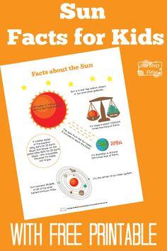 Fun Sun Facts for Kids