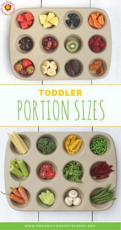 Toddler Portion Sizes – Ideas and Strategies to Ensure Your Toddler's Diet is Balanced and Varied. — The Organic Cookery School