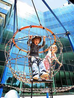 Royal Hospital Playground in   Australia. Fiona Robbe architect