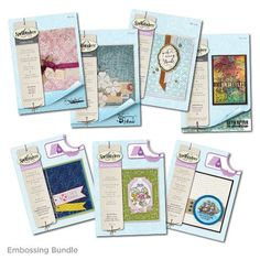 Embossing Folder Value Bundle