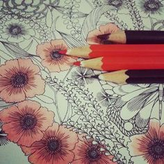 Pencils are your best option. | 18 Tips To Bring Your Colouring To The Next Level