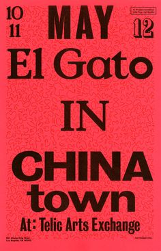 El Gato is the thesis project of Stefano Giustiniani, an MFA Candidate at Cal Arts. El Gato is a mobile news truck producing daily newspapers at select and special locations around Los Angeles. This weekend: Chinatown!