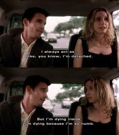 from 'Before Sunset' Before Sunset Quotes, Before Sunset Movie, Before Sunrise Trilogy, Before Trilogy, Julie Delpy, Cinema Quotes, Film Quotes, The Notebook Quotes, Im Dying Inside