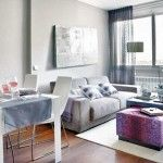 Interior Design Ideas Apartment Living Room And Also Small Apartment Living Room Interior Design And Apartments Lovely Very Small Apartment Design Idea For Living Room With Iron Ore Pink Table With White Small House Interior Design, Small Apartment Design, Small Apartment Living, Small Apartment Decorating, Apartment Interior Design, Small Apartments, Small Spaces, Apartment Ideas, Condo Design