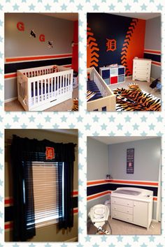 Detroit Tiger Nursery Theme