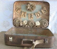 Vintage Suitcase craft display