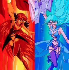 Animamates: Sailor Lead Crow, Sailor Aluminum Siren