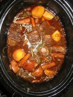 Dialed-In Nutrition: Crockpot Stew/Soup