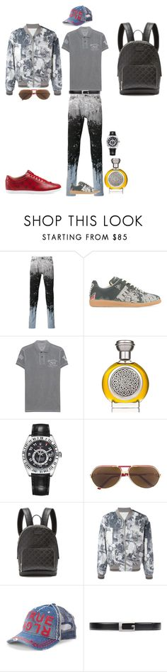 """Patrick&Ezekiel"" by seniorswayout ❤ liked on Polyvore featuring Diesel Black Gold, Maison Margiela, True Religion, Boadicea the Victorious, Rolex, Cartier, Gucci, men's fashion and menswear"