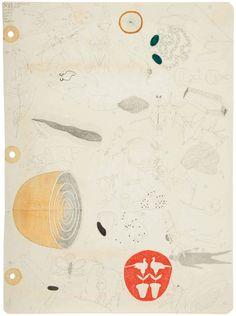 José Antonio Suárez Londoño – Sin título No. 12. 2013. Mixta sobre papel. 28 x 20.5 cm
