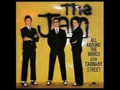 The Jam - All Around the World, vinyl, new wave, mod revival, weller Boss Sound, Jam Songs, Mature Mens Fashion, Paul Weller, Carnaby Street, The Jam Band, Music Images, Post Punk, Music Albums