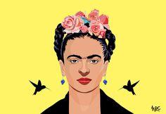 Resultado de imagem para Frida by Hugo Cataldo