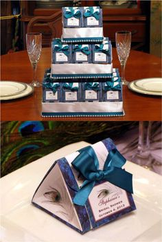 peacock  theme wedding favors | ... , birthdays, bridal showers, weddings or any PEACOCK themed occasion