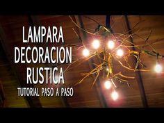 Luminária de tronco velho - Log lamp - YouTube