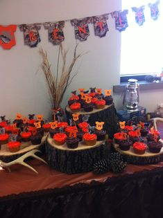 Camo/orange Decorations For Baby Shower   Would Just Have To Do It Itu0027s A  Girl | Projects To Try | Pinterest | Babies, Camo Baby Showers And Its A  Girl