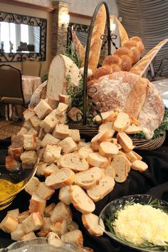 bread display for weddings - Google Search