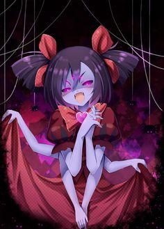 Muffet Undertale, Anime Undertale, Undertale Drawings, Scary Drawings, Fanart, Spider Girl, Anime Hair, Bleach Anime, Kawaii Art