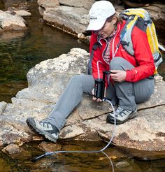 Katadyn Hiker PRO Water Filter - This is my favorite filter for backpacking. Works fast and easy!
