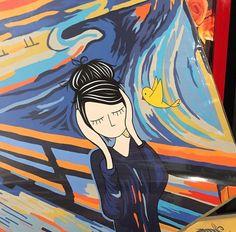 Eliza e Piu em O Grito de Munch