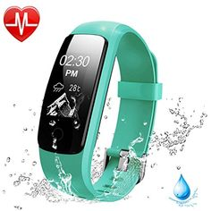 Heart Rate Fitness Tracker Watch, Lintelek Updated Activity Tracker with Multiple Sports Modes, IP67 Waterproof Touch Screen Smart Pedometer for Android and IOS Smart Phones *** Continue to the product at the image link. (This is an affiliate link) #Accessories