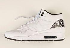 1e2416102815 Nike Air Max 1 Mid - White - Black - SneakerNews.com Air Max 1
