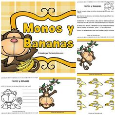 Juegos Bíblicos Sadrac Mesac Y Abednego, Sunday School Activities, Bananas, Kids, Kids Ministry, Ideas, Love, Frases, Bible Games