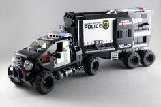 Police Truck-16   LEGO 7   Flickr