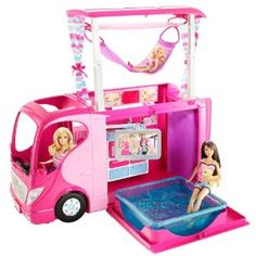 """Barbie Sisters Family Camper (this is one of her """"dream"""" items!)"""