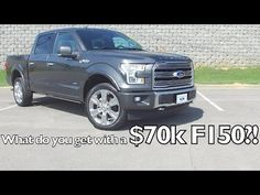 The 2016 Ford F-150 Limited is a pickup to be reckoned with. It's the first and only truck in its class with a body and bed made from high-strength, military-grade, aluminum alloys. Plus, it's one of the safest too, earning a 5-Star Overall Vehicle...