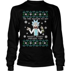 Rick and Morty Christmas Sweater