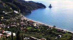 Corfu. Cosmopolitan and traditional.
