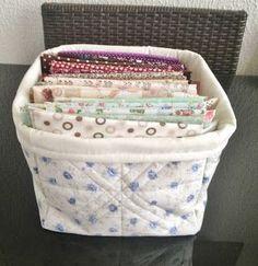 Tutorial DIY Passo à passo Como fazer um Caixa ou Organizador de Tecido