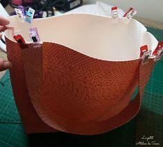 Tutoriel mon petit sac en simili-cuir... - Le Petit Atelier de Sam