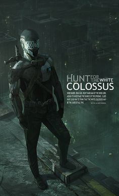 Hunt for the White Colossus, concept development by torei on deviantART