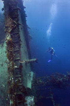The Taiyo Wreck: Marovo Lagoon, Solomon Islands