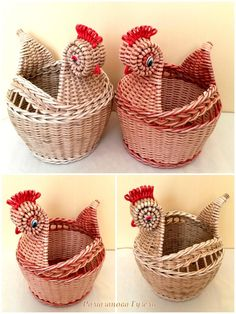 Фотографии favorite home. Newspaper Basket, Newspaper Crafts, Paper Weaving, Weaving Art, Willow Weaving, Basket Weaving, Recycled Crafts, Diy And Crafts, Brooms And Brushes