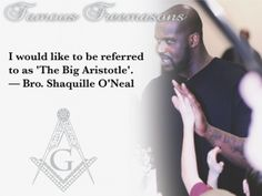 "Shaquille O'Neal~ ""I would like to be referred to as ""The Big Aristotle."