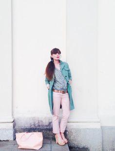 MINT AND PINK di fashionamy su @STYLIGHT  #mint #pink #pastel #outfit #fashionblog #stylight
