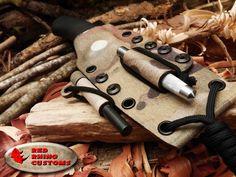 bushcraft kydex sheath